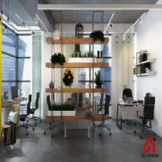 How to create a comfortable space for employees to exchange and relax with economical cost?