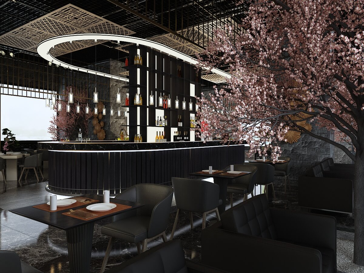 interior-design-for-japanese-restaurant